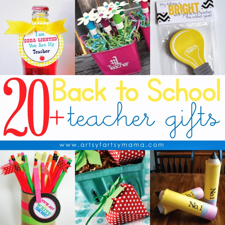 20+ Back to School Teacher Gift Ideas