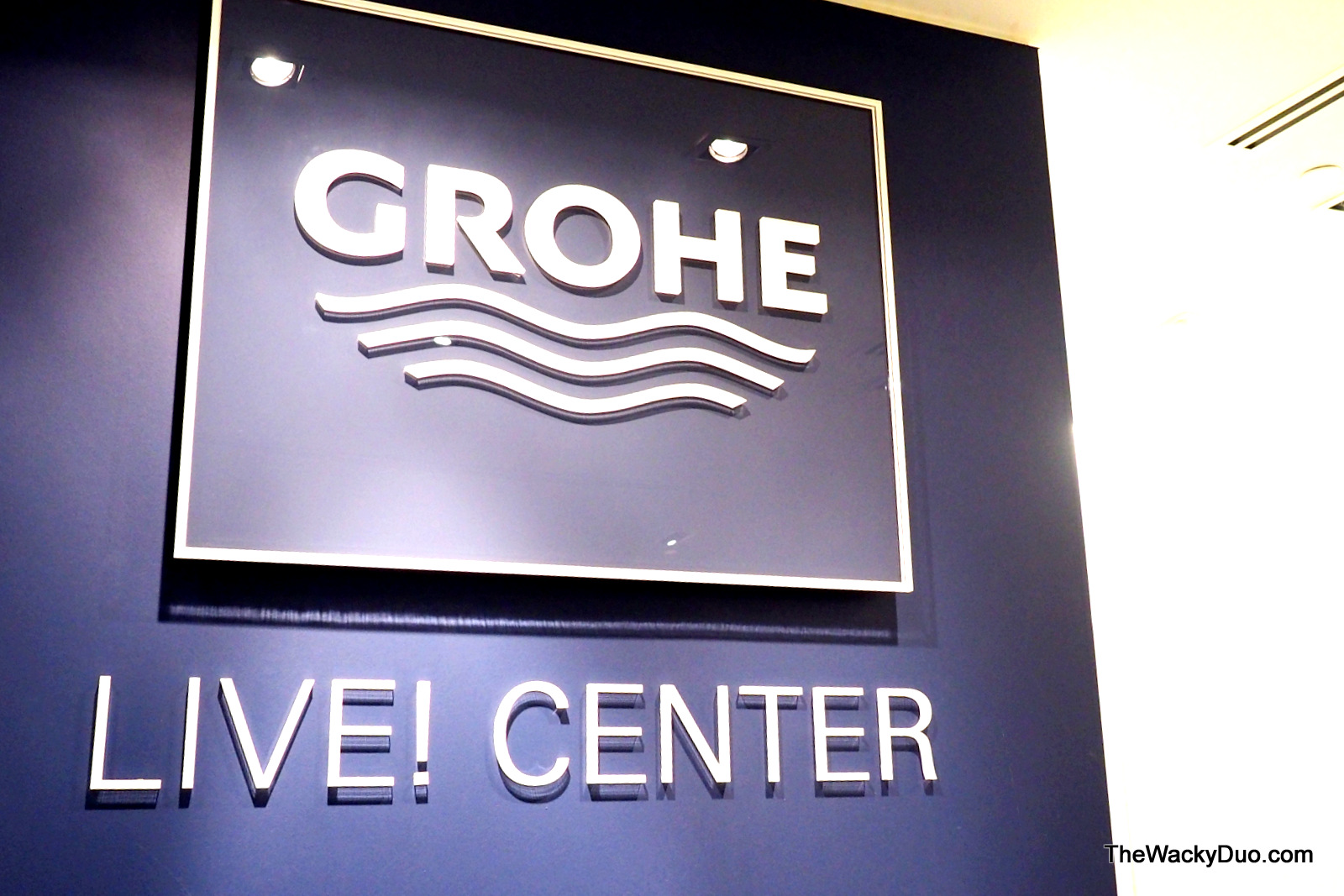 Pure Joy in Water @ GROHE Live Center | The Wacky Duo | Singapore ...