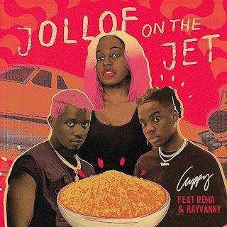 [Music] DJ Cuppy Ft. Rema & Rayvanny – Jollof On The Jet