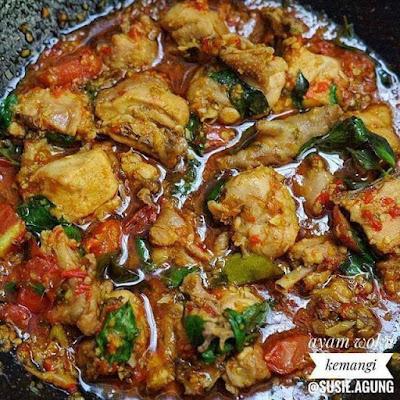 Olahan Ayam - Ayam Woku