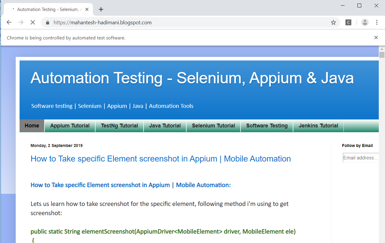 Install Appium Without Chromedriver Appium Automatic Server