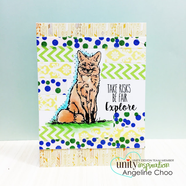 ScrappyScrappy: Frenzy of Unity Cards + [NEW VIDEOS] - Woodland Fox #scrappyscrappy #unitystampco #card #cardmaking #youtube #quicktipvideo #craft #papercraft #handmade