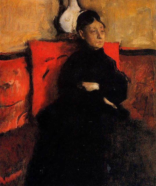 Эдгар Дега - Портрет герцогини de-montejasi-cicerale (ок.1868)