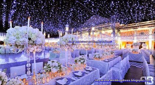 Winter Wonderland Wedding Decorations