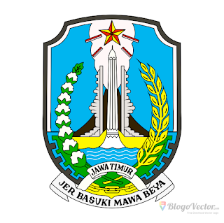 Provinsi Jawa Timur Logo vector (.cdr)