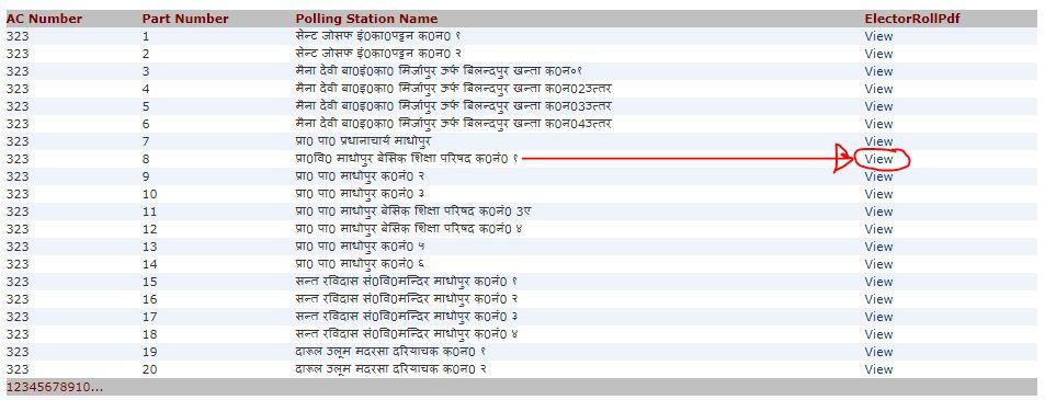 gram panchayat chunav 2021 voter list download