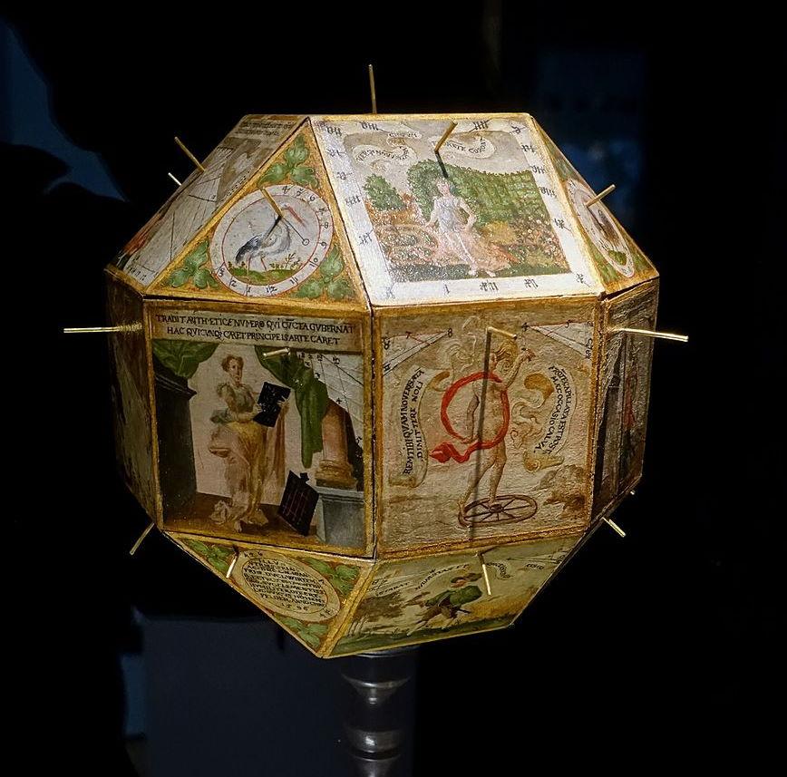 sundial by Ludwig von Hohenfeld