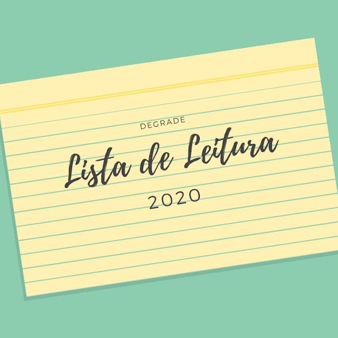 Lista de Leitura - 2020
