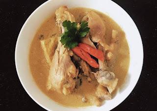 cara memasak opor ayam lebaran