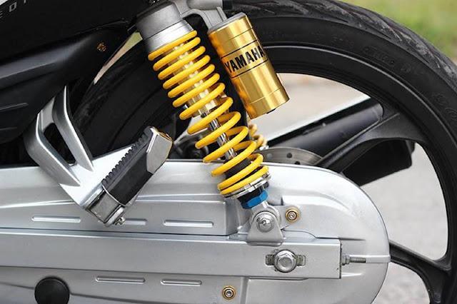 Các hư hỏng thường gặp ở xóc xe máy