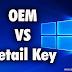 Licencias Retail vs Licencias OEM