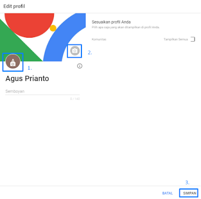 Cara Mudah Membuat Akun Google Plus (Google+) Terbaru