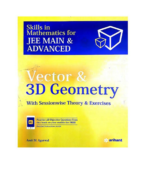 Vector and 3D Geometry : JEE Advance Exam PDF Book