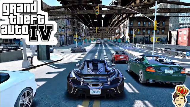 تحميل لعبة Grand Theft Auto 4 للأندرويد كاملة Download Gta IV ANDROID