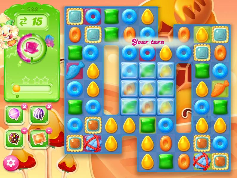 Candy Crush Jelly Saga 523