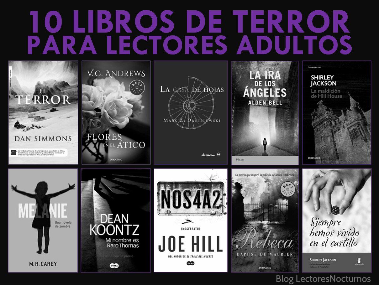 Libros de terror para adultos