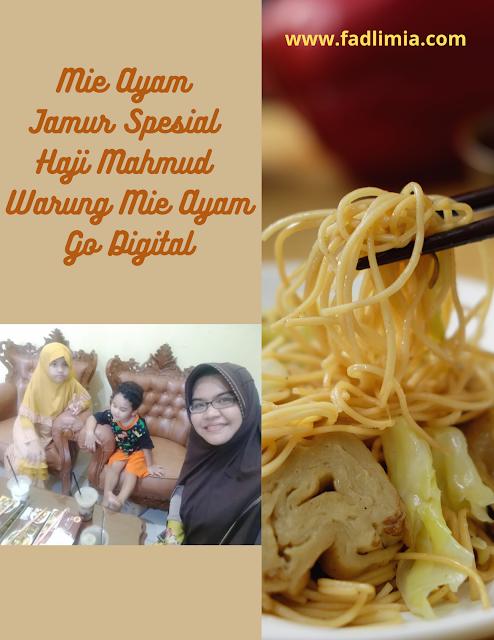 Mie Ayam Jamur Haji Mahmud