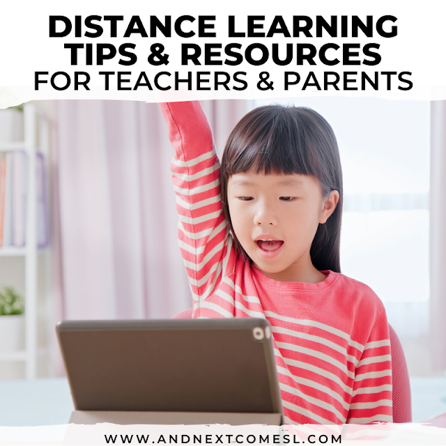 Distance learning tips and resources