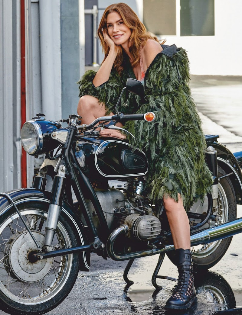 Cindy Crawford Featured in Harper's Bazaar Magazine - Singapore February 2020