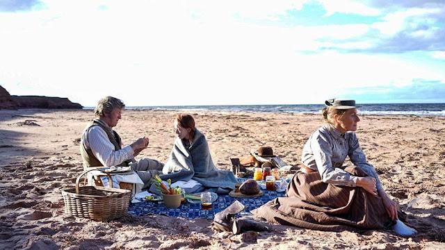 "Ania Shirley-Cutberth, Mateusz i Maryla Cutberth zorganizowali piknik na plaży ""Ania, nie Anna"""