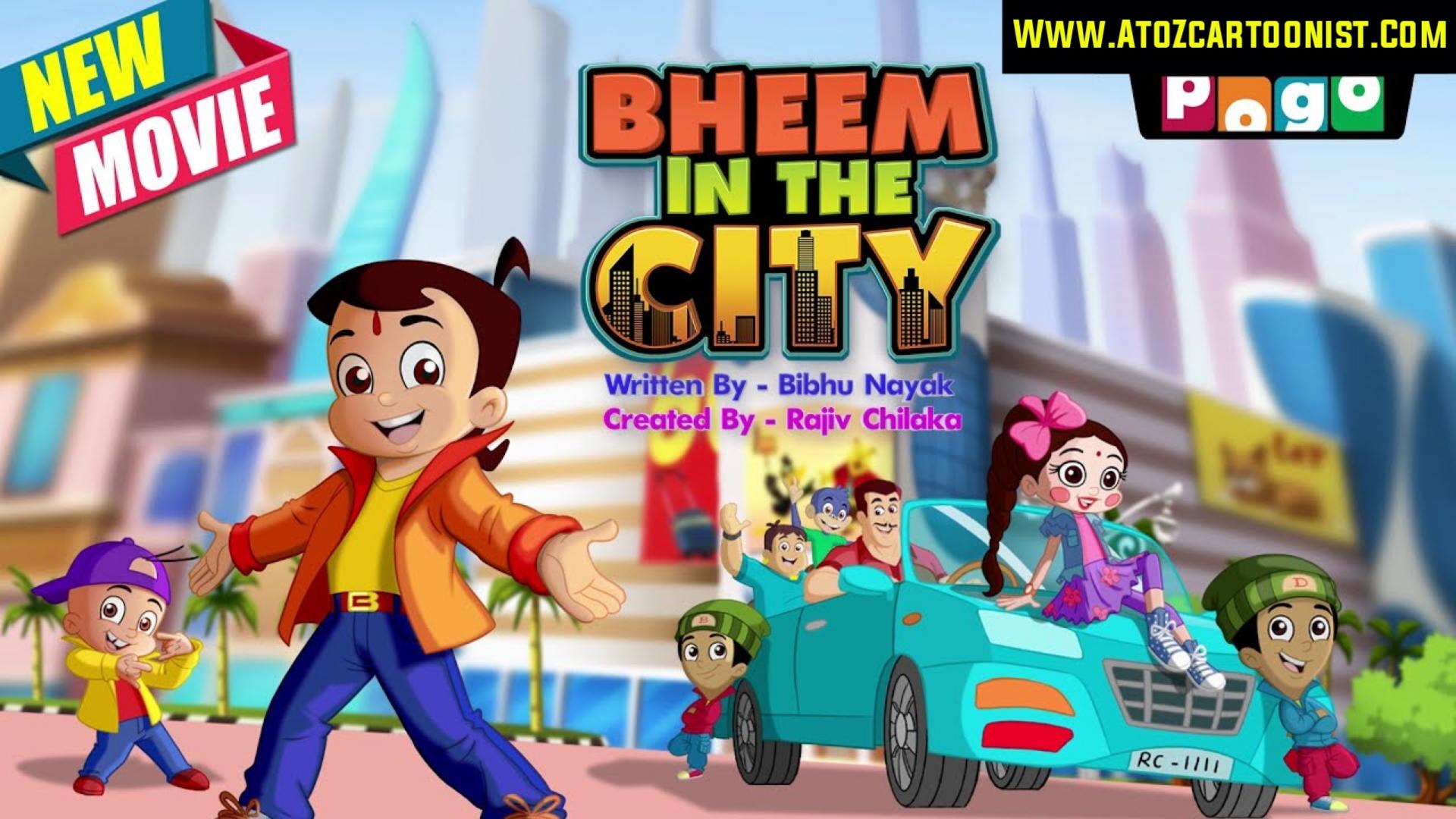 CHHOTA BHEEM – BHEEM IN THE CITY FULL MOVIE IN HINDI & TAMIL DOWNLOAD (480P, 720P & 1080P)
