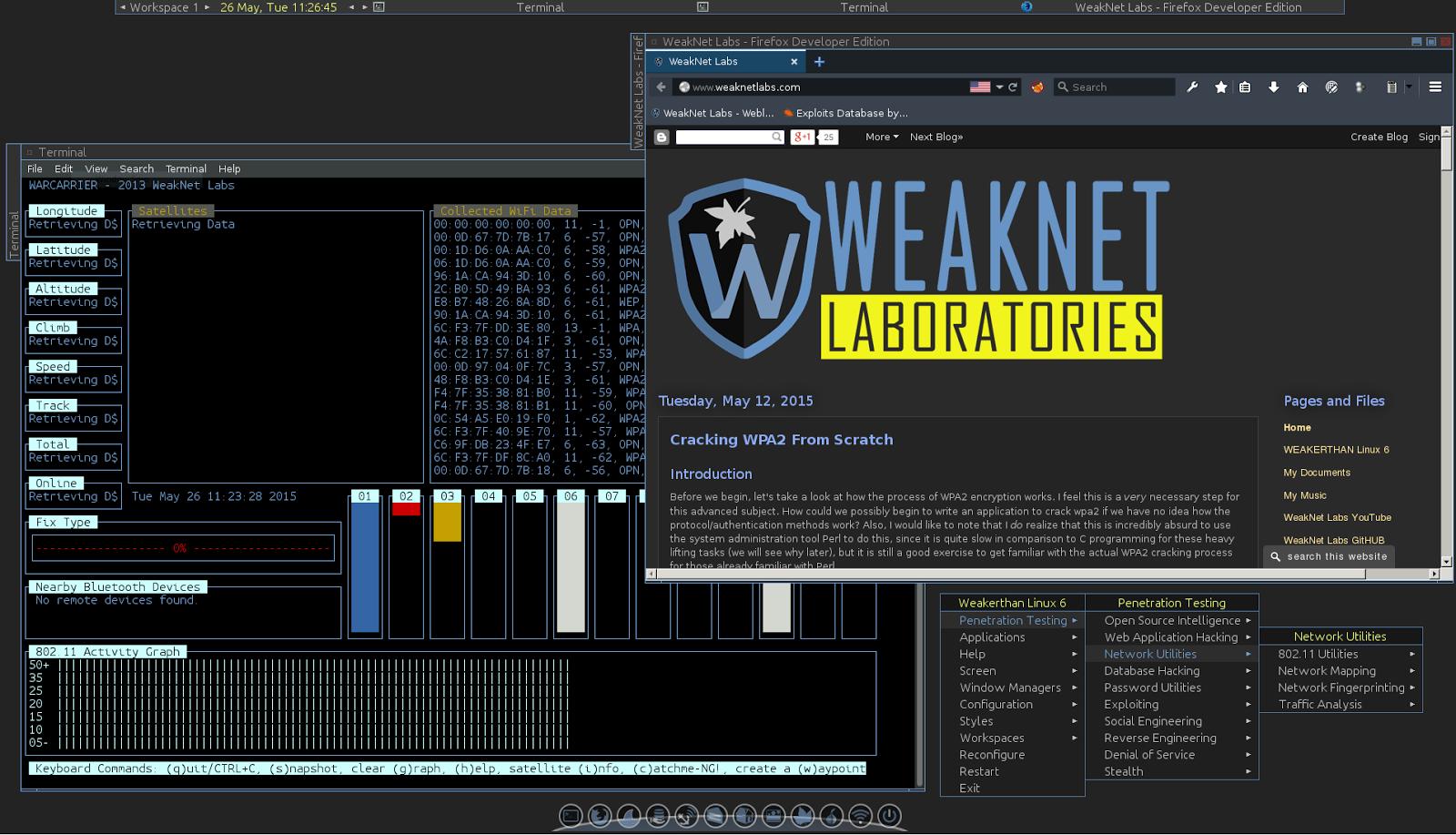 WeakNet Labs: WEAKERTHAN Linux 6 BETA 2 Release