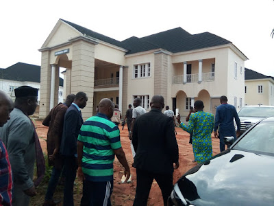 Governor Okorocha present Brand New Houses, Suv Cars to Former Governors of Imo state