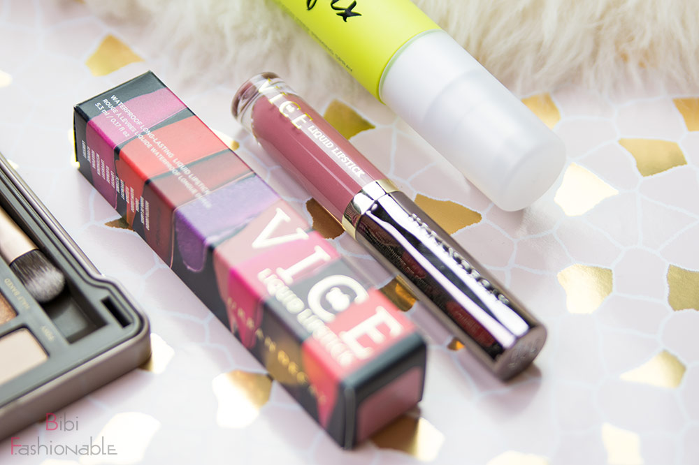 Urban Decay Blogparade VICE Liquid Lipstick inkl. Umverpackung