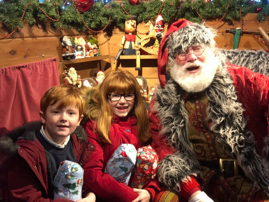 The Best Santa Experiences in North East England - Alnwick Garden