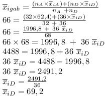Menentukan nilai rata-rata pelajaran IPA IX D www.jawabanbukupaket.com