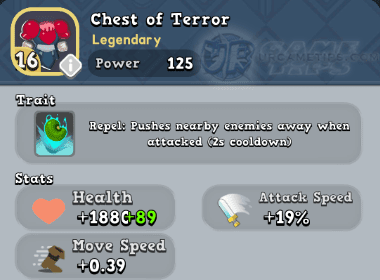 World of Legends Chest of Terror