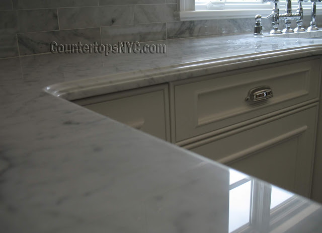 Carrara Marble Countertop NYC