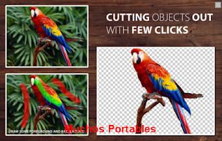 Portable PhotoScissors