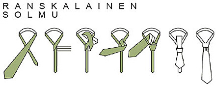 ranskalainen kravattisolmu