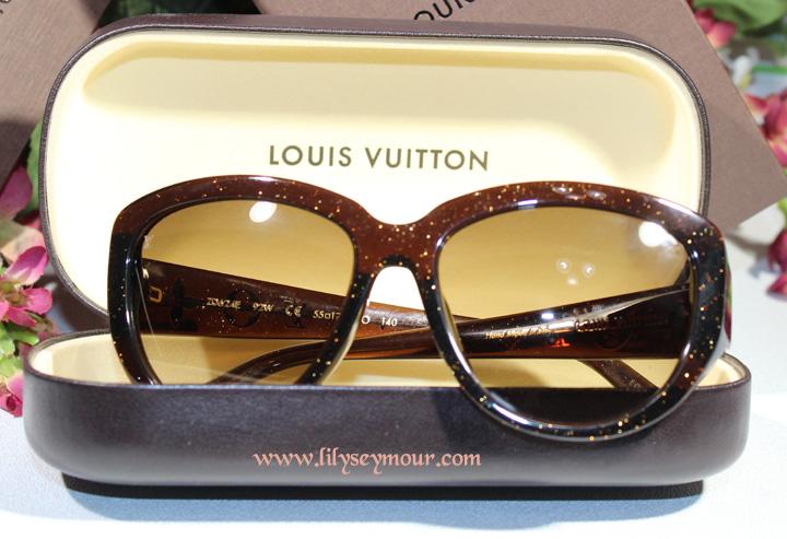 Louis Vuitton Luxury Gold Spec Sunglasses