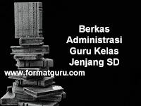 Download Berkas Administrasi Guru Kelas Jenjang SD