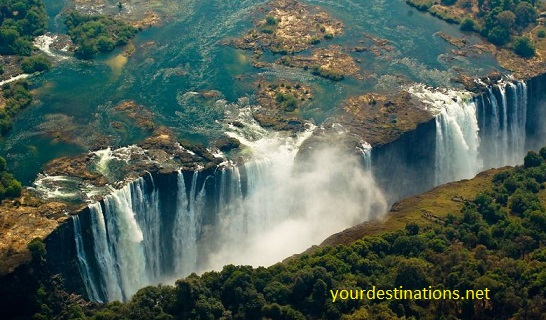 The largest waterfall in the world