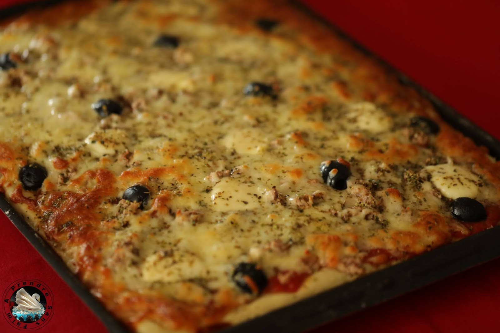 Pizza thon fromages