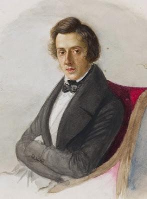 Chopin, by Maria Wodzińska 1836 in National Museum, Warsaw