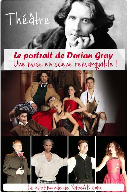 critique sur le  Le portrait de Dorian Gray joué au théâtre à Paris
