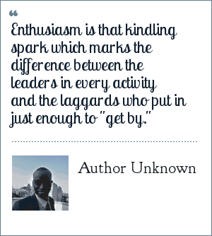 Enthusiasm Quotes And Sayings