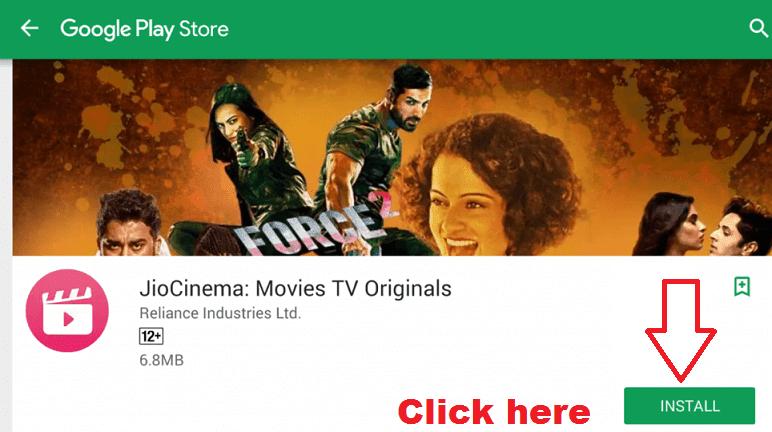 Jio Cinema for PC/Laptop Windows (7, 8, 10) Free Download