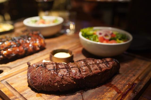 Hunter and Barrel Sydney Steak Restaurant rump steak