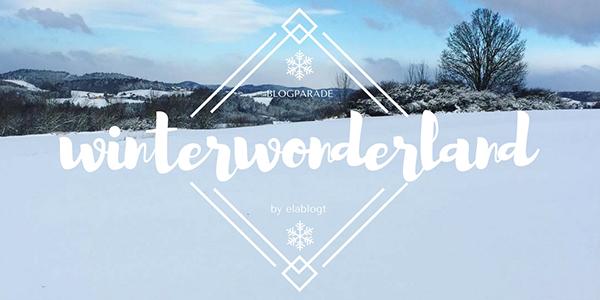 Logo Bloggeraktion Winterwonderland von Ela bloggt