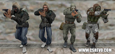Skin Player - Stalker Models Pack - CS 1.6, jogadores, models, players