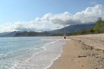 Tenggelam Dalam Keindahan, Pantai Oa Dan Rako Surganya Wisata Flotim