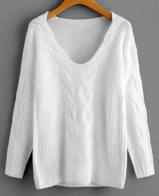 pullover-v-neck-zaful