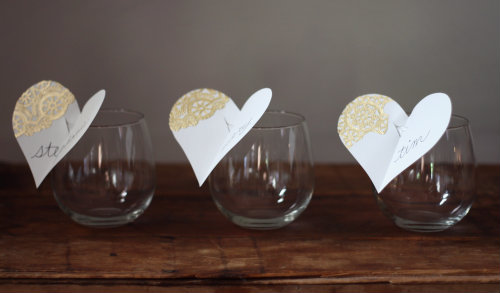 how to diy wine glass place cards 17 apart