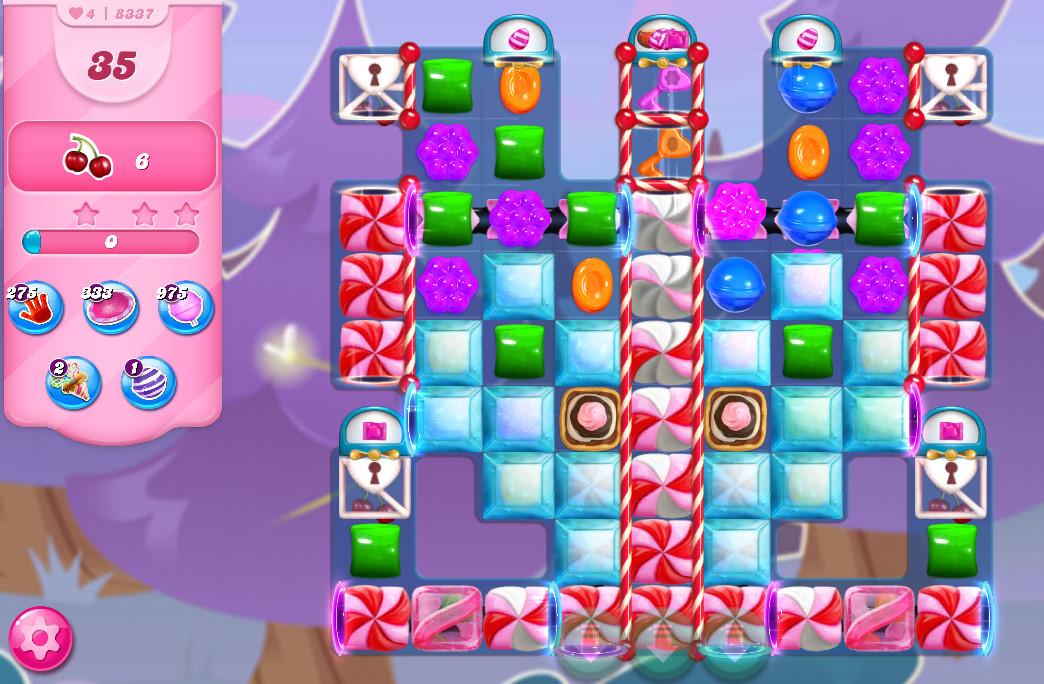 Candy Crush Saga level 8337