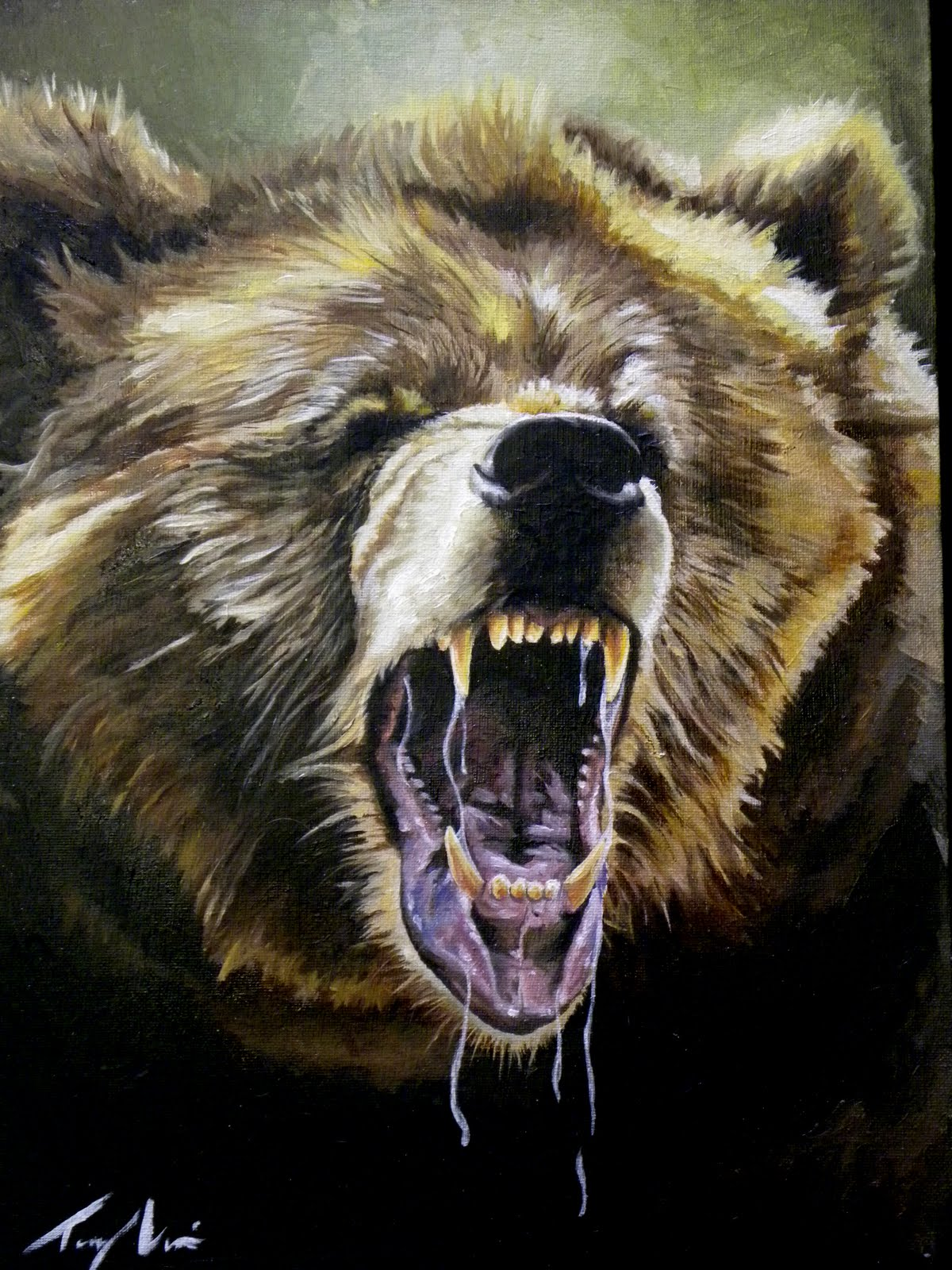 Tony Vouis Snarling Animal Series